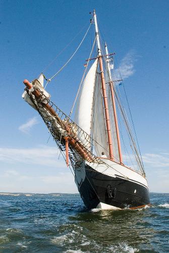 Laan & Kooy Twin Masted Topsail Schooner AMAZONE