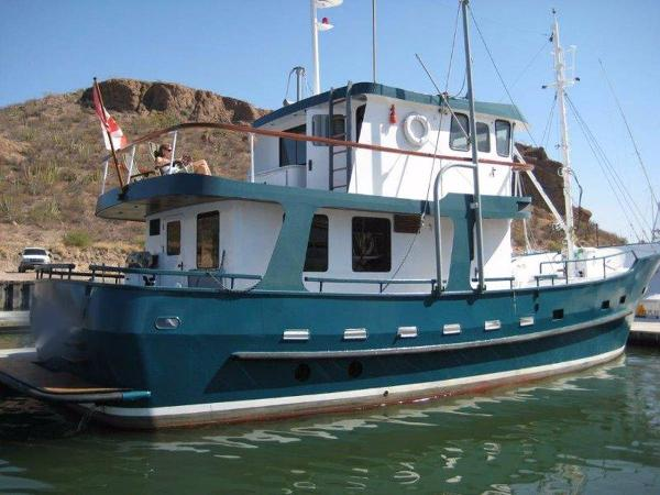 Custom North Sea Trawler Profile