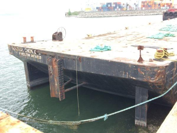 Commercial 220' x 43' Steel Deck Barge