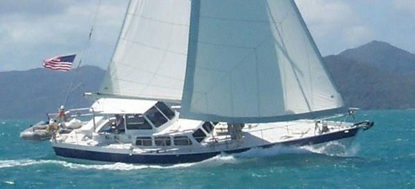 Kanter Atlantic Pilothouse Cutter Kanter 50 Under sail