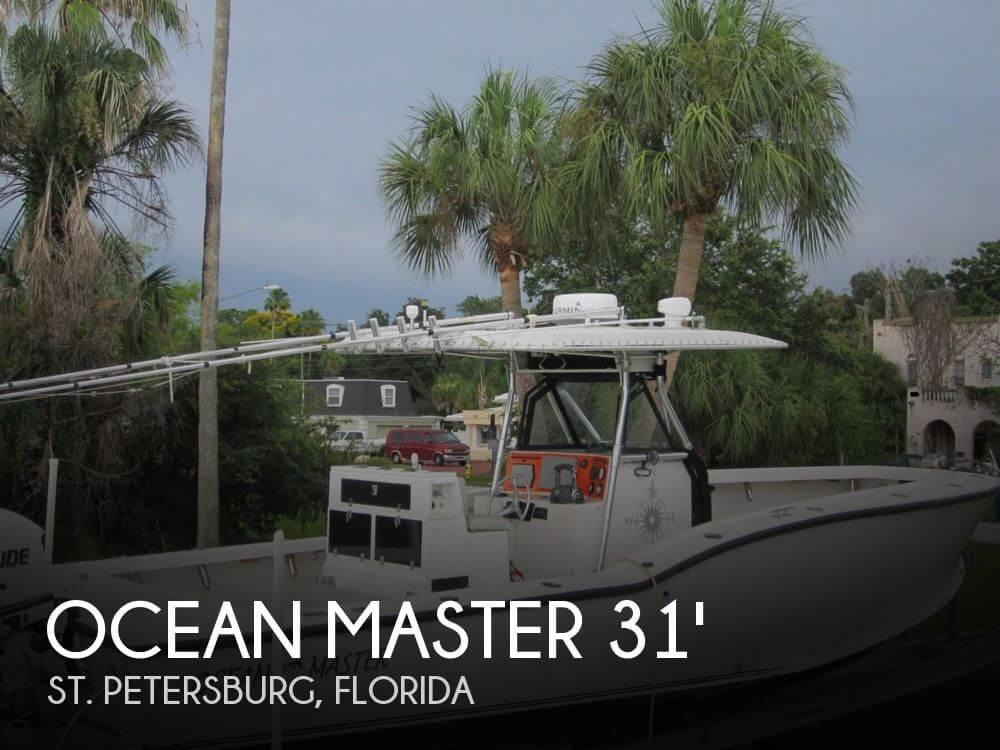 Ocean Master 31 Center Console 1995 Ocean Master 31 Center Console for sale in St Petersburg, FL