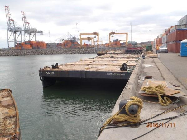 Commercial 180' x 54' Steel Barge
