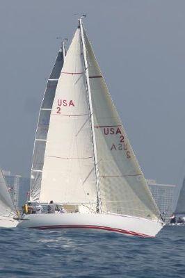 Peterson Kiwi 37 Underway starboard tack