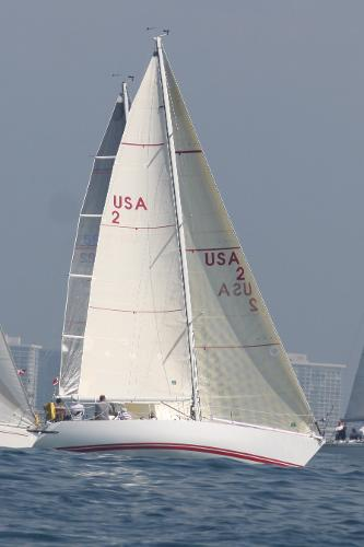 Peterson Kiwi 37 Underway starboard tack