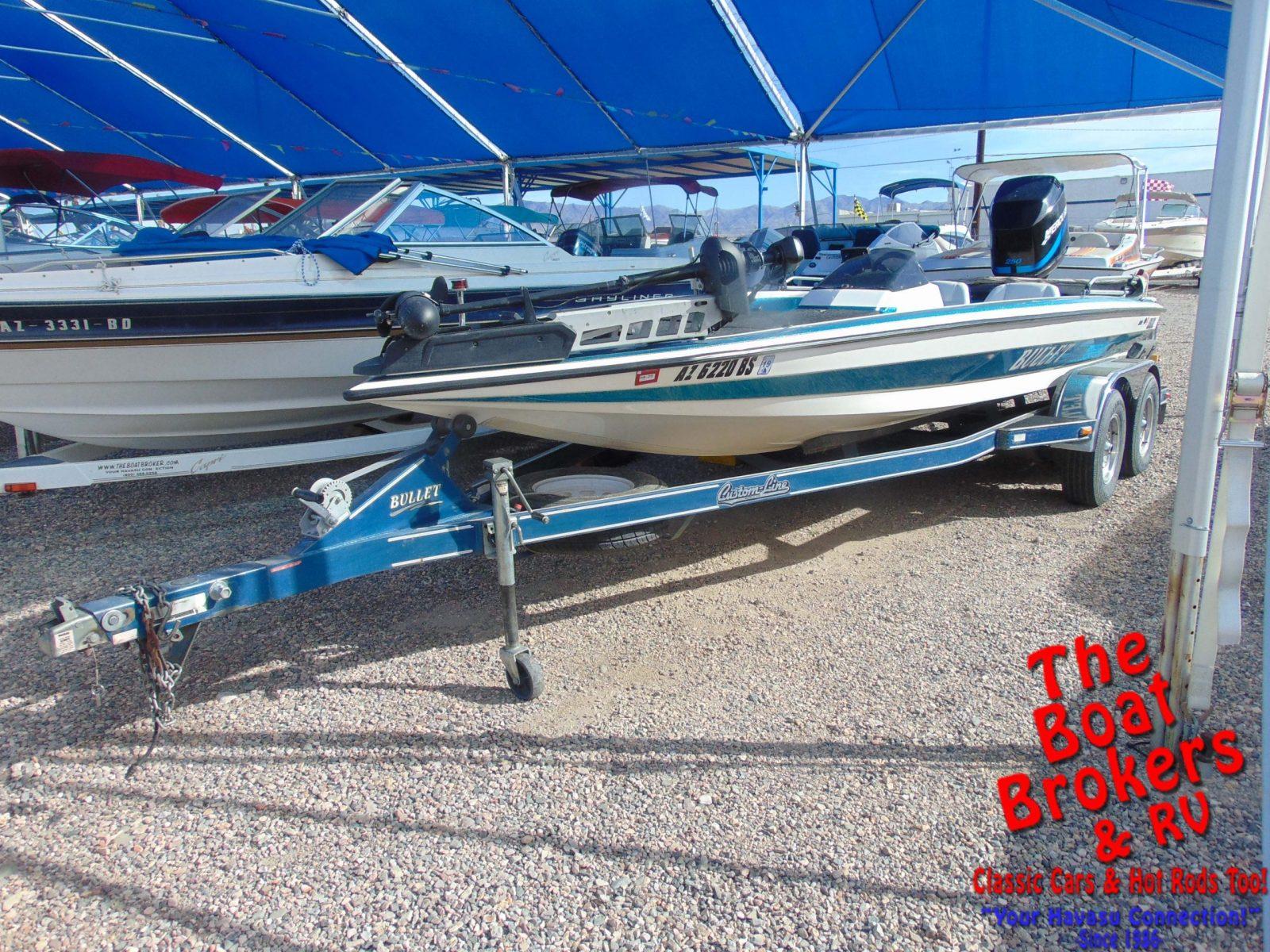 Bullet 20 CC Fishing Boat