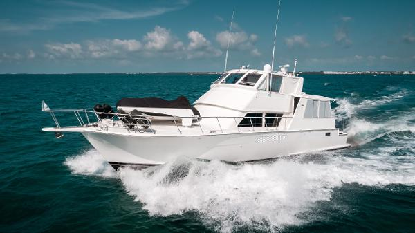 Viking 60 Motor Yacht Profile Port