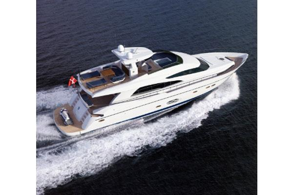 Royal Denship 85 Flybridge Profile