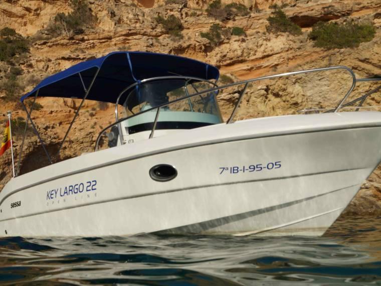 Sessa Sessa Marine Key Largo 22 Deck