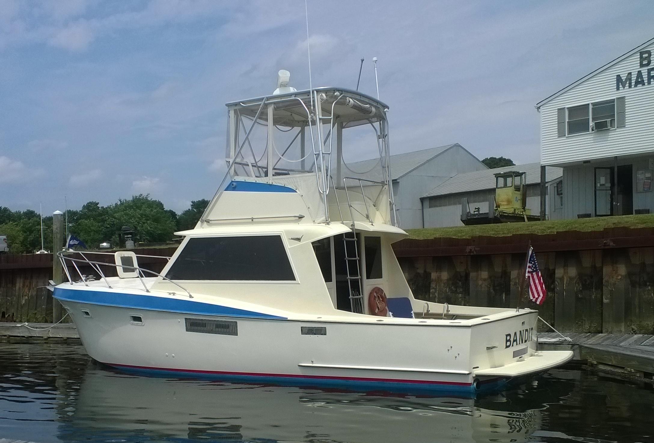 Hatteras 34 Sportfish Convertible