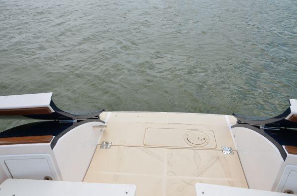 Open Tailgate & Swim Platform