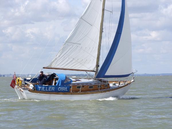 "Classic 32ft Bermudan Sloop 32ft Classic Yacht ""Tiller Girl"""
