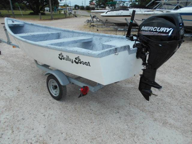 Bully Boat 15 ft tiller