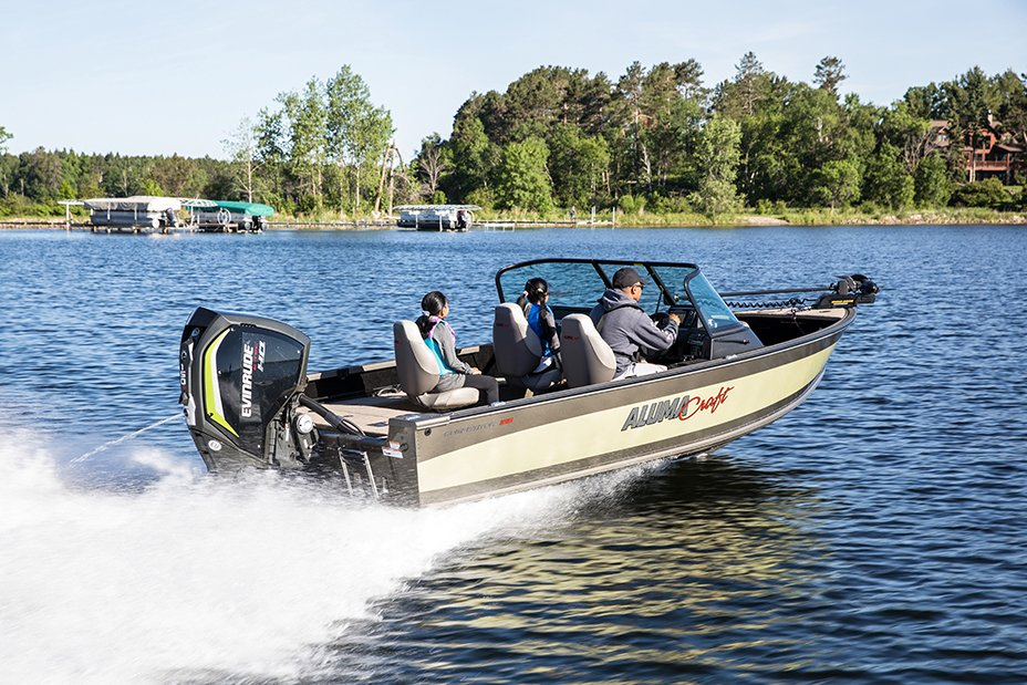 Alumacraft Competitor 185 Sport and Dual Console Windshield