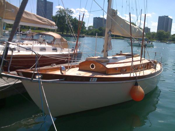 Fisher Boat Works S & S Pilot Sloop Profile