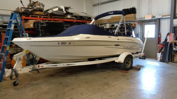 Sea Ray 185 Sport Fish N Ski Outboard