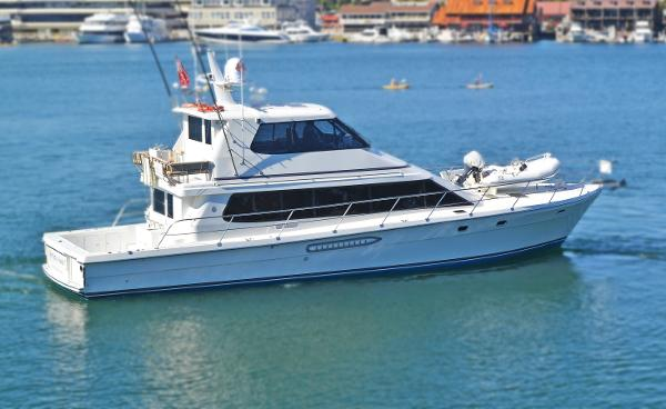 Salthouse Pilothouse Yachtfisher EXTERIOR