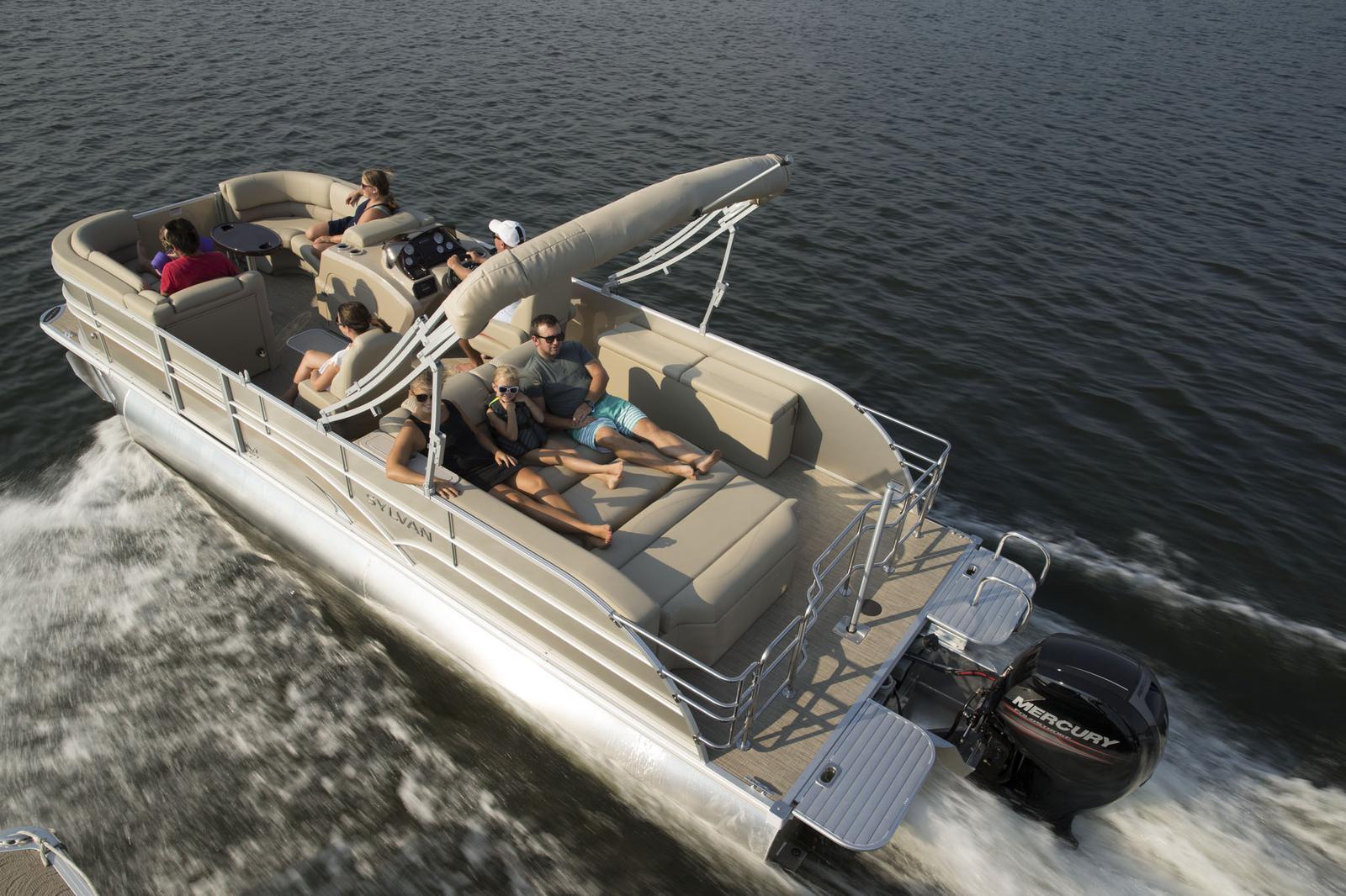 Sylvan Mirage Cruise LE 8524 DLZ Tritoon