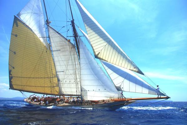 William Fife Classic schooner Myanmar