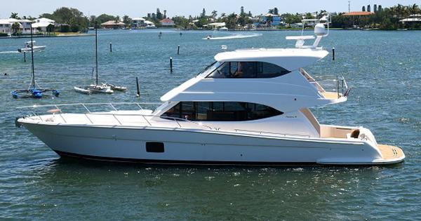 Maritimo 56 Enclosed Bridge