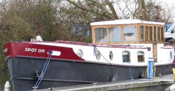 Tyler Wilson Replica Dutch Barge Branson Katherine 55' Dutch Barge fitted by Jonathan Wilson