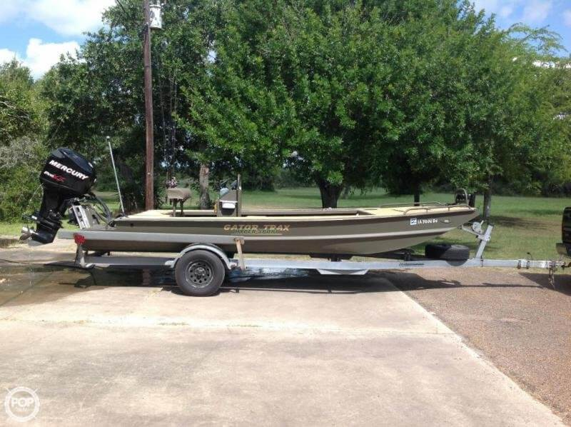 Gator Trax 17x62 Hunt Deck BIG WATER EDITION 2011 Gator Trax 18 for sale in Seadrift, TX
