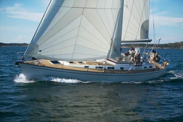 Najad 460 sailing