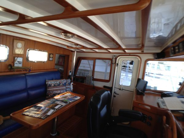Pilothouse Looking to Port