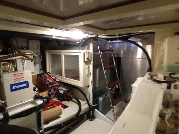 Engine Room Looking Forward on Port