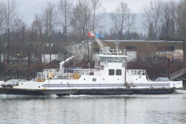 Twin Screw Double Ended Ferry With 2 Ulstein Drives