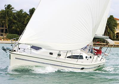 Catalina 375 Under Sail