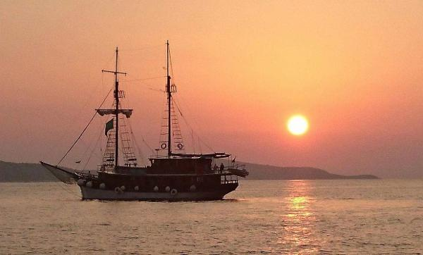 Custom Wooden Logger Cruise Ship