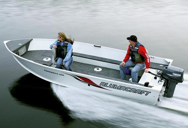 Характеристики Alumacraft Fisherman 160 Fisherman 160 Лодка Алюмакрафт Фише