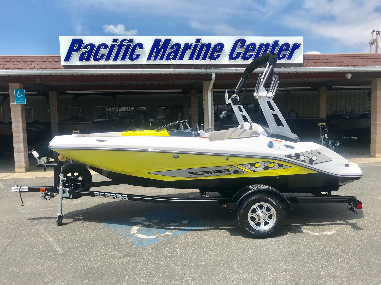 Scarab 165 ID w/250 Supercharged Rotax engine