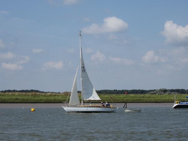 Folkboat Folkboat - Underway