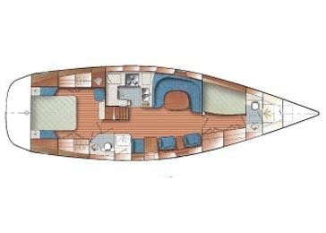Two cabin layout.