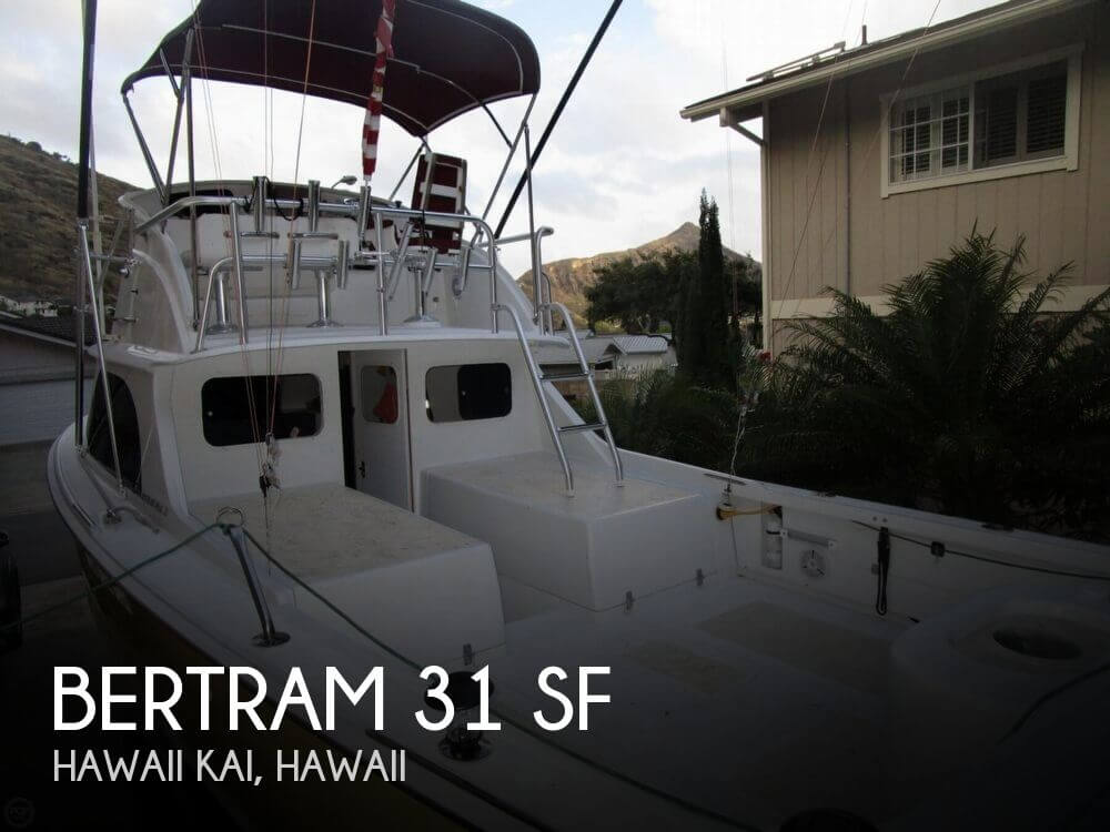Bertram 31 Sportfisher 1977 Bertram 31 SF for sale in Hawaii Kai, HI