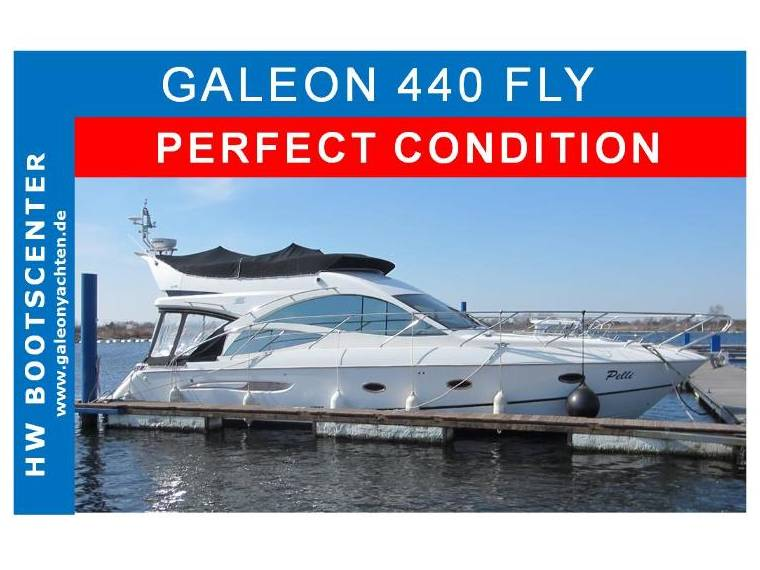 Galeon Galeon  440 FLY TOP ZUSTAND