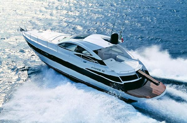 Pershing 46 Manufacturer Provided Image: Cruising