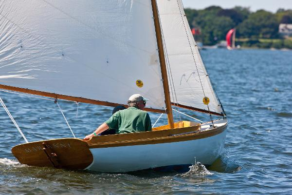 Herreshoff 12 1/2 Under Sail