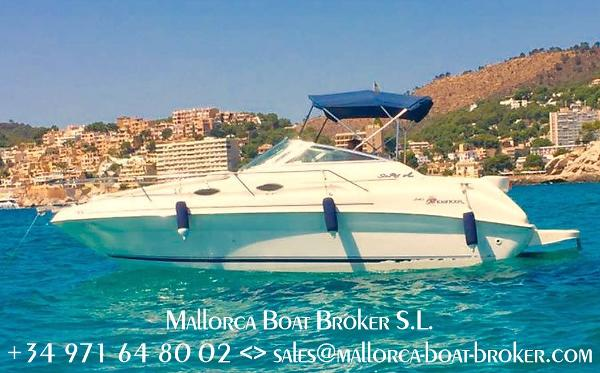Sea Ray 240 Sundancer SeaRay Sundancer 240 DA (1998) - in Spanien/Mallorca
