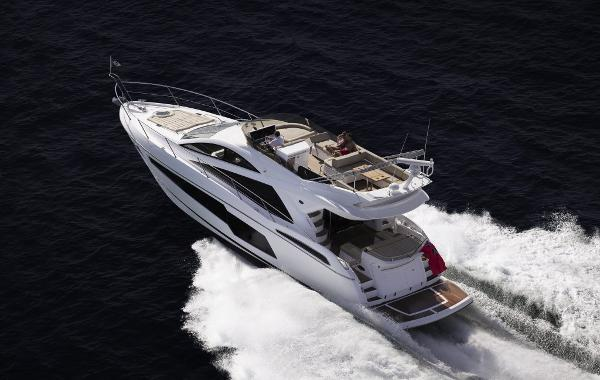 Sunseeker Manhattan 55 Manufacturer Provided Image: Sunseeker Manhattan 55 Stern