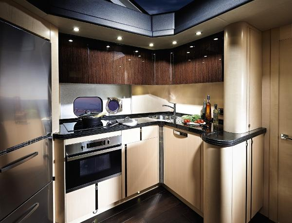Sunseeker Manhattan 55 Galley