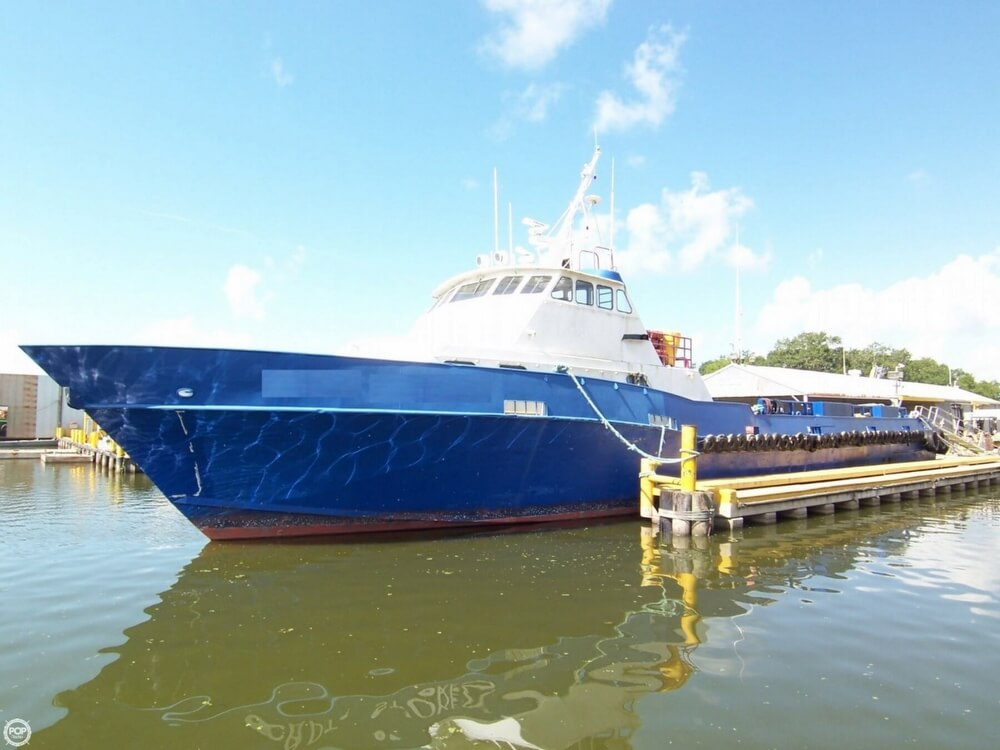 Breaux Brothers 135 Crew Passenger Boat 1991 Breaux 135 Crew Passenger Boat for sale in Amelia, LA