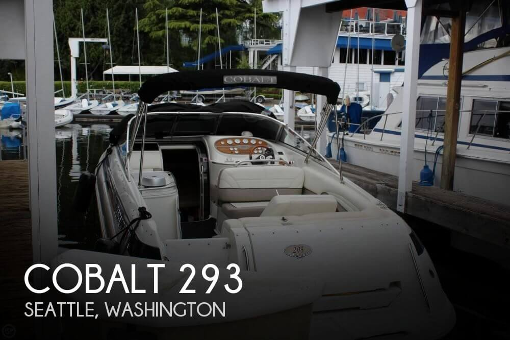 Cobalt 293 2001 Cobalt 293 for sale in Seattle, WA