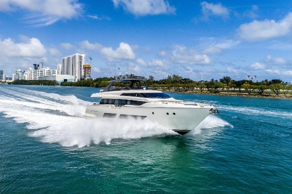 Ferretti Yachts 850 85' Ferretti 2018
