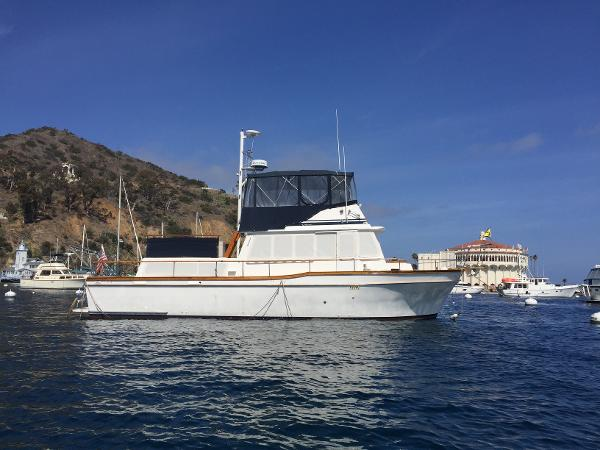 Californian 42 LRC Starboard Profile