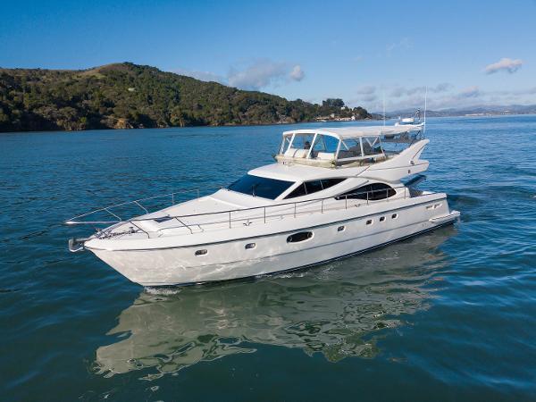 """Ferretti Yachts 590 Flybridge Ferretti Flybridge 590 """"ALOHA LINDA"""""""
