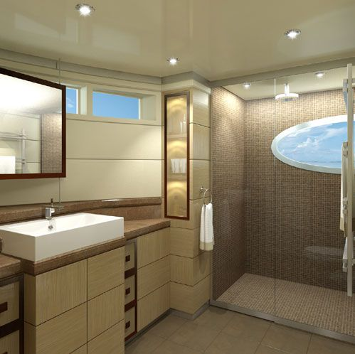 Curvelle Quaranta bathroom