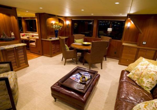 Main salon starboard