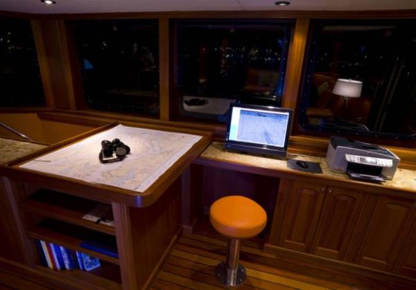 Pilothouse chart table & computer desk